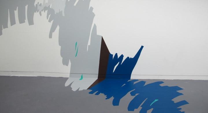 Cornered Gesture (c) 2013 Naomi Nicholls