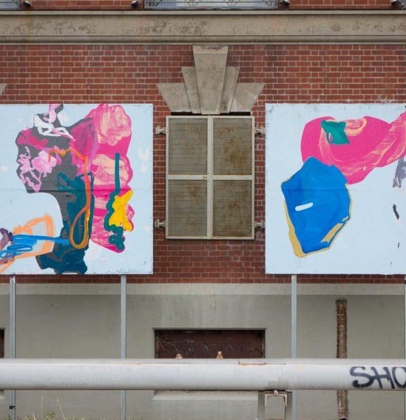 Leaving Triptych Triptych - Naomi Nicholls